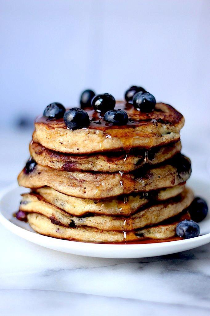 Pancakes de Arándano