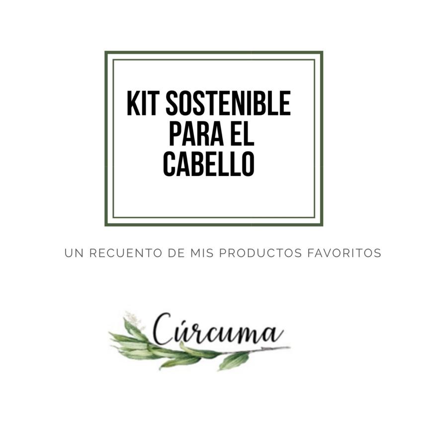 Kit sostenible para elcabello