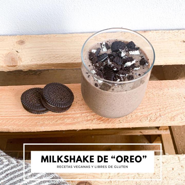 Milkshake de ¨Oreo¨ (GF yV)