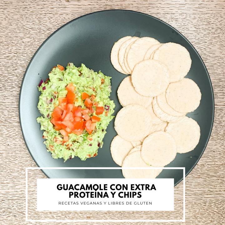 Guacamole con extra Proteína yChips